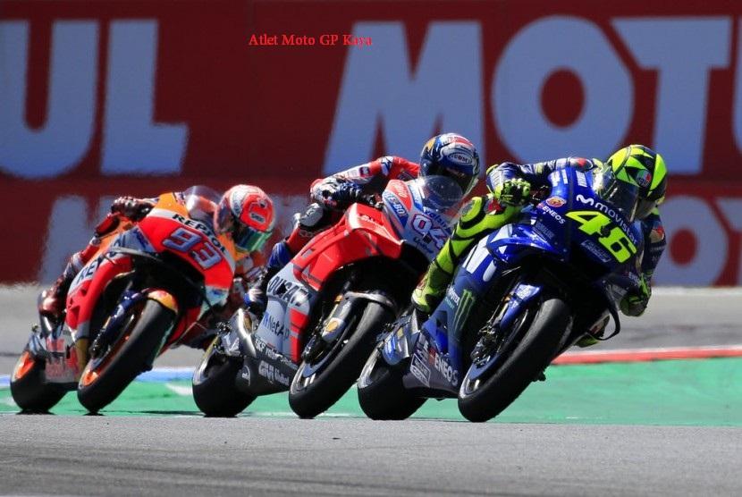 Atlet Moto GP Kaya