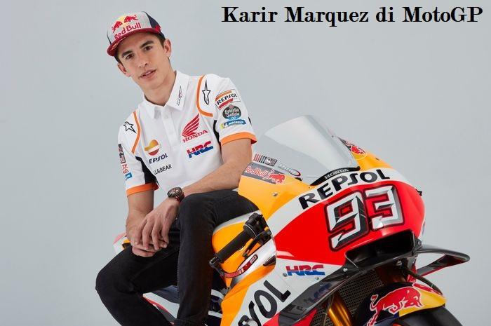 Karir Marquez di MotoGP